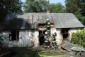 Spłonął dom w Adamierzu