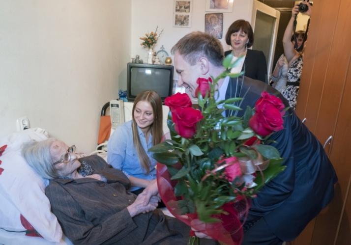 Świętowali 107 urodziny jednej z dwóch najstarszych koninianek