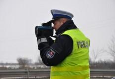 Prawie 140 km/godz. jechał motocyklista w Tarnowej