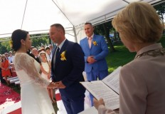 Ach, co to był za ślub! Pierwszy taki w regionie!
