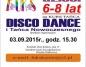 Kurs disco i tańca nowoczesnego w KDK