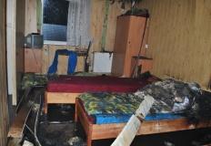 Spłonęło gospodarstwo agroturystyczne w Powidzu