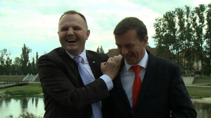 Wyborcze pojednanie J.Kwiatkowskiego i P.Piechockiego