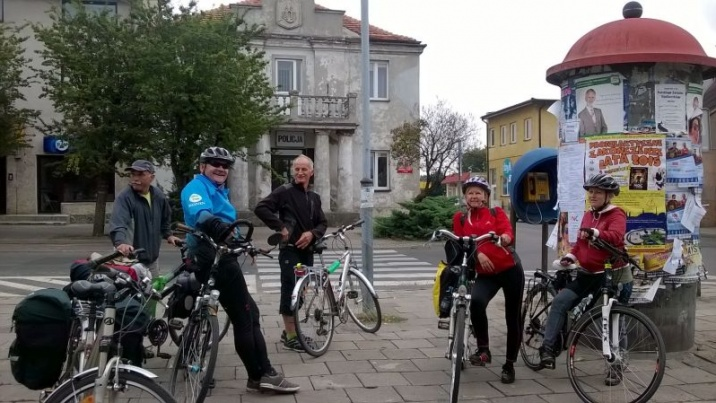 Rowerzyści z całego kraju spotkali się w Kłodawie