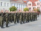 Baczność! Żołnierska przysięga na placu Wolności w Koninie