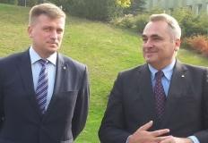 Wicemarszałek Sejmu i sekretarz stanu odwiedzili Konin
