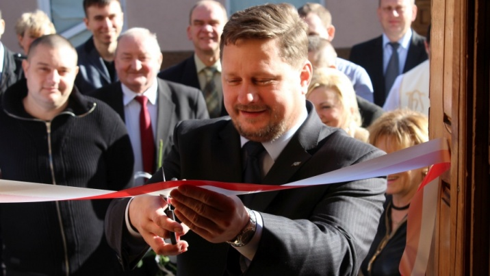 Poseł Kukiz 15 oficjalnie otworzył swoje biuro w Koninie