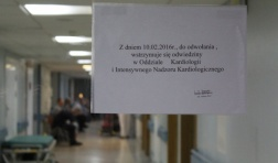 Przez szalejącą grypę szpital wprowadza zakaz odwiedzin