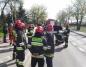 Wypadek na ul. Jana Pawła II. Zderzyły się trzy samochody