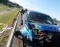 Zderzenie czterech samochodów na Trasie Bursztynowej