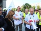 """Kolejne manifestacje energetyków w Warszawie. ,,Wróćcie premię!"""""""