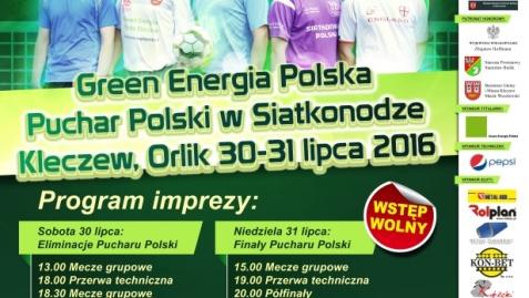 Najlepsze polskie drużyny siatkonogi zagrają w Kleczewie