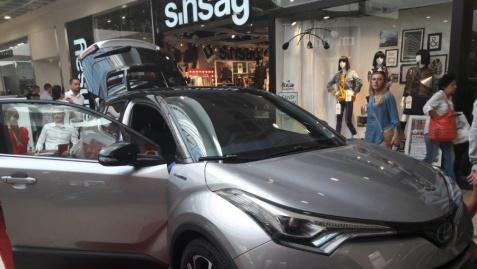 Toyota C-HR zachwyciła podczas pokazu premierowego w Koninie
