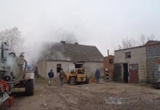 Gmina Strzałkowo. Mężczyzna zginął w płonącym budynku