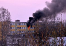 Mieszkanie spaliło się od  ...