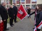 Uroczystości na skwerze Pamięci Ofiar Zbrodni Katyńskiej