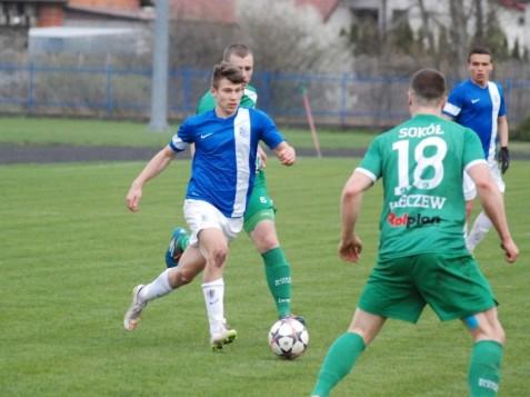 Gol Bajerskiego na wagę zwycięstwa z Lechem II Poznań