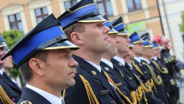 Strażacy opanowali starówkę w Koninie