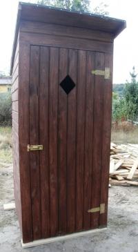 WC na budowę lub działkę