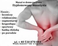MASAŻ URSYNÓW na ból kręgosłupa Dojazd do Klienta