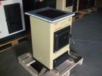 Kuchnia węglowa - kocioł c.o. z płytą grzejną TEMY S 10