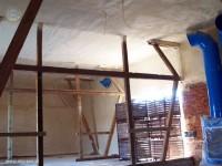 Izolacja budynku rolniczego pianką poliuretanową natryskiem