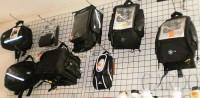 Kufry , torby , sakwy motocykowe.