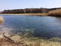 Rekreacyjne działki nad jeziorem.