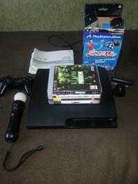 Sprzedam konsolę PlayStation 3 + dodatki