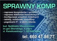 SPRAWNY KOMP - NAPRAWA TELEFONÓW, KOMPUTERÓW
