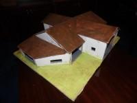 Obory, bud. gospodarcze, garaże, wiaty - projekty budowlane