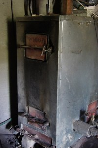 Piec węglowo-miałowy -używany, sprzedam tanio