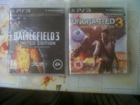 Gry PS3 - Battlefield 3, Uncharted 3