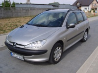 PEUGEOT 206 1,4 benzyna Bezwypadkowy 2005 rok z Niemiec