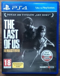 The Last Of Us PS4 (jak nowa)