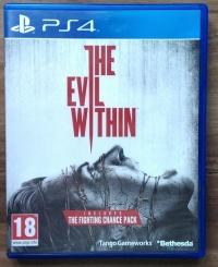 Sprzedam Grę THE EVIL WITHIN na PS4 (jak nowa)