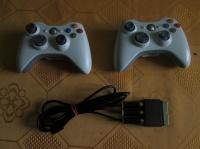 Sprzedam brdzo tanio 2 Pady i gry do Xbox360