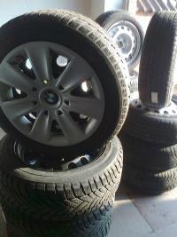Felgi stalowe BMW