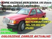Kupię Mercedesa 124 190 C-Klase i inne tel.725 361 836