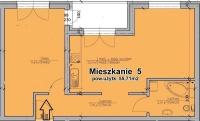 Sprzedam nowe mieszkanie w Woli Podłężnej