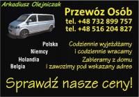 Przewóz Osób – Transport Osobowy. Arkadiusz Olejniczak