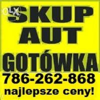 SKUP-AUT ZA GOTÓWKĘ.786-262-868. NAJLEPSZE CENY!