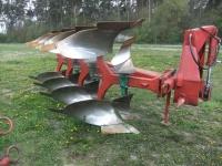 Kverneland 4 Skiby Hydrauliczny