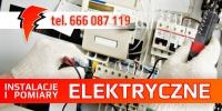 Elektryk, instalacje i pomiary elektryczne.