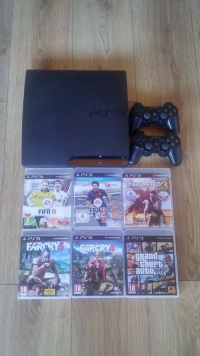 PLAYSTATION 3 PS3 ZESTAW