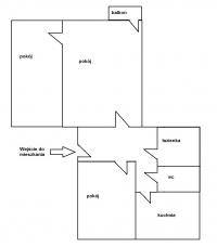 Mieszkanie – 3 pokoje - BALKON – ul. Zakole