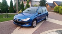 Sprzedam, Peugeot 206 SW 1.6 HDI