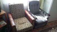 4 fotele i wersalka