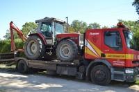Transport maszyn i urządzeń budowlanych i rolniczych