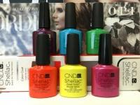 offer Cnd shellac nail polish / Mac cosmetics